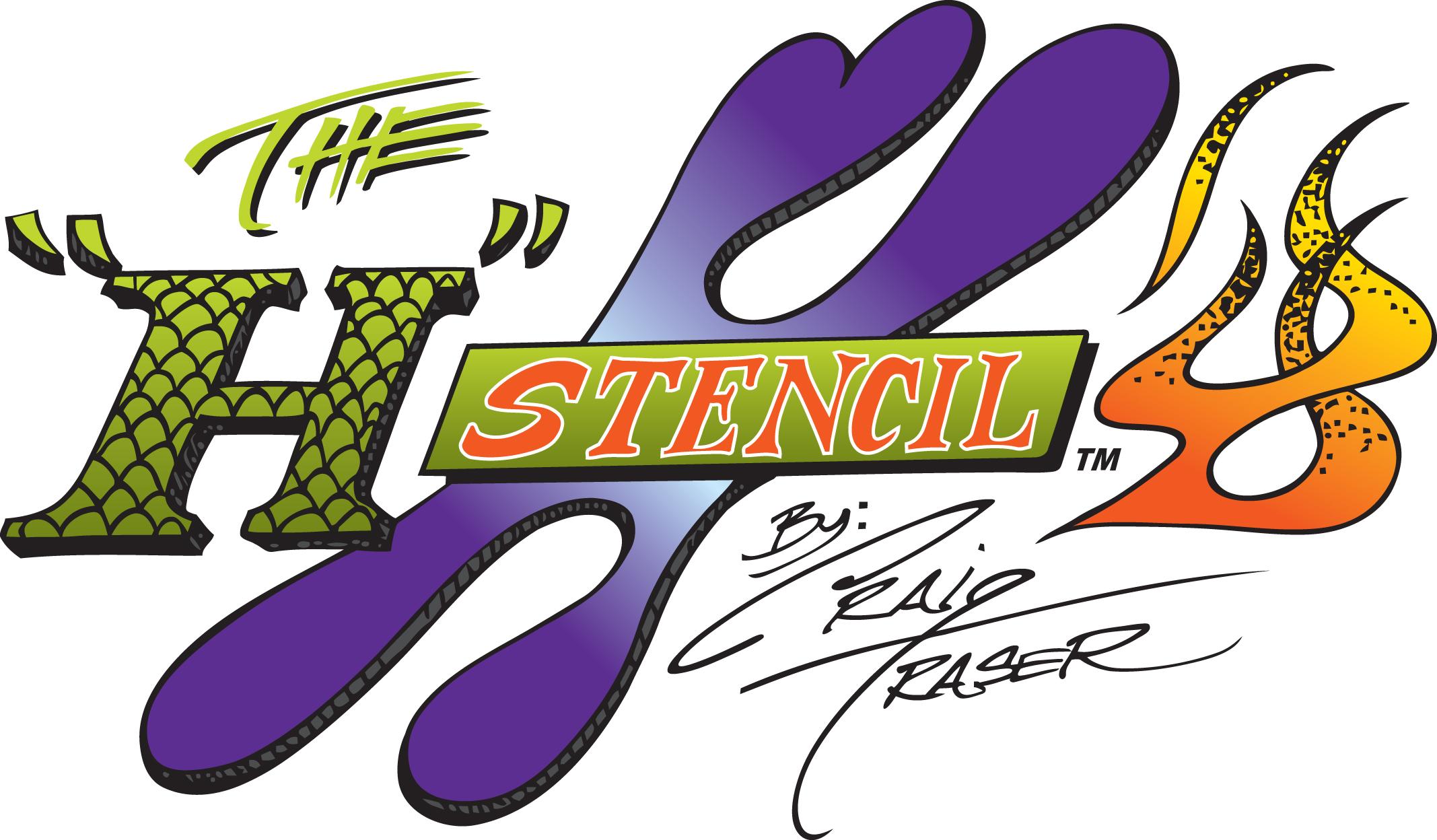 Stencil H