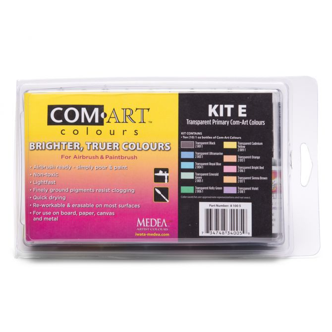 Comart Mediums And Sets From Dixie Art And Airbrush