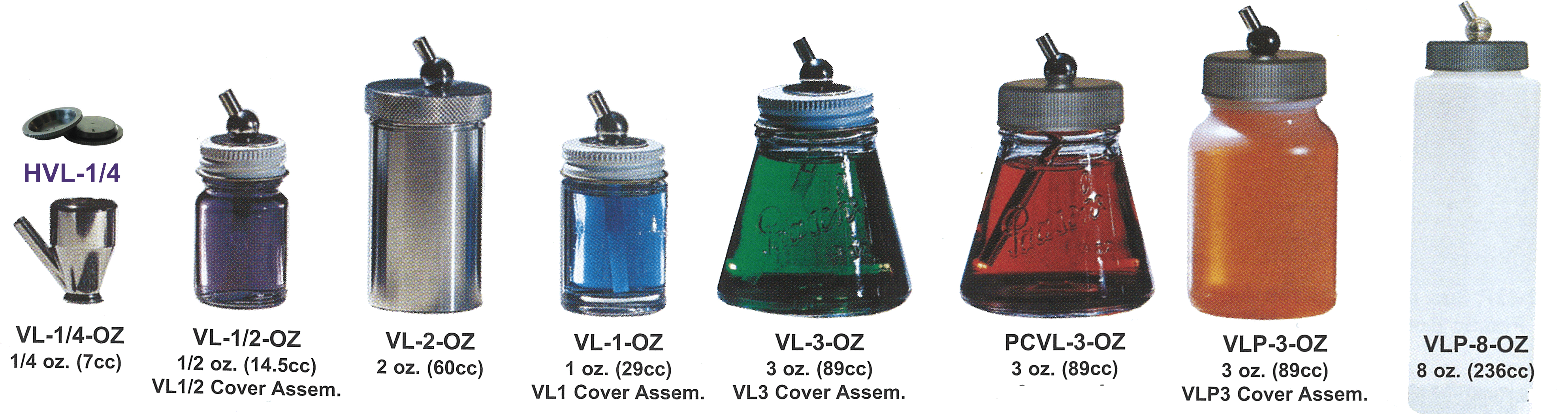 VL BOTTLE ASSEMBLIES
